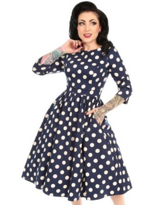 Swing Polka Dot Dress
