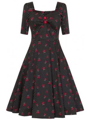 Cherry Dot Dress