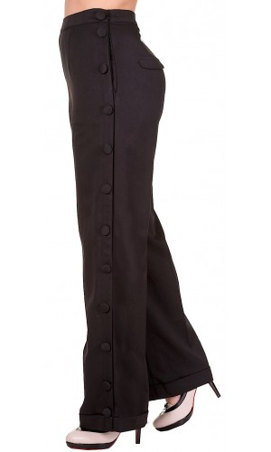 Marlene Trousers Black