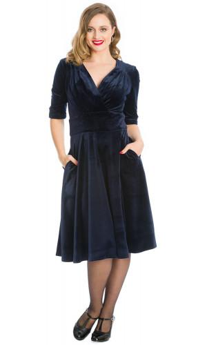 Mariella Dress Navy