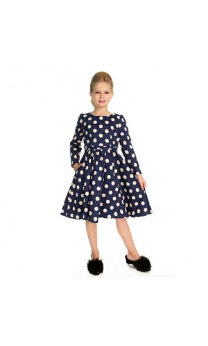 Swing Polka Dot Dress Kids