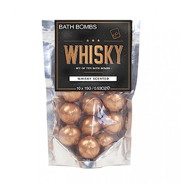 Whisky Badebomben