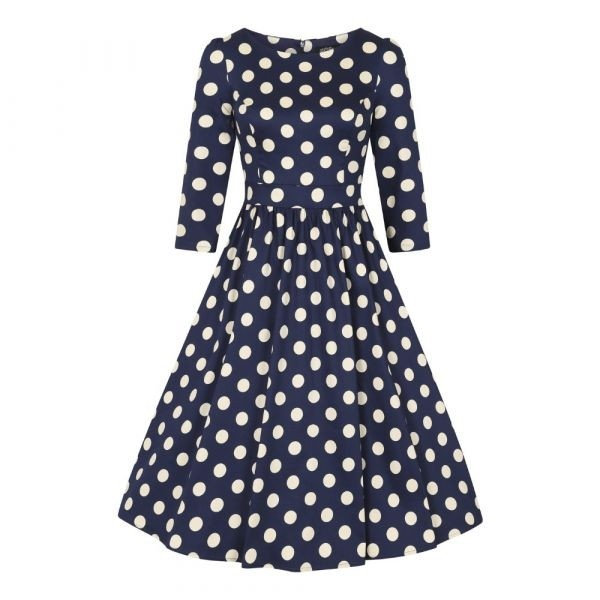 Swing Polka Dot Dress