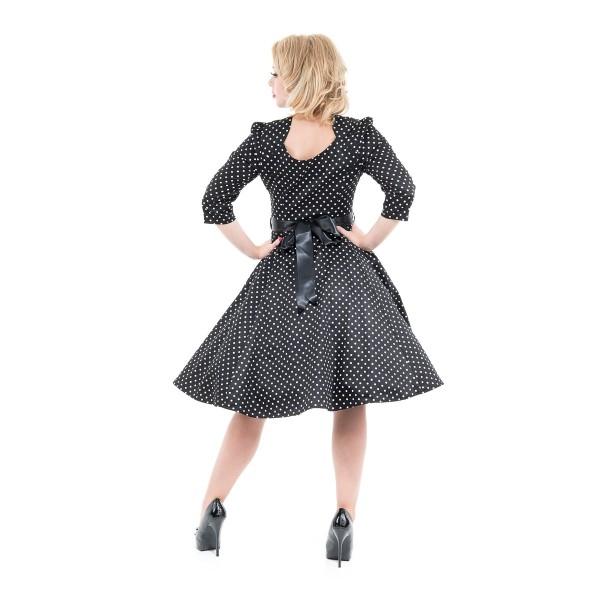 Marie Black Dress