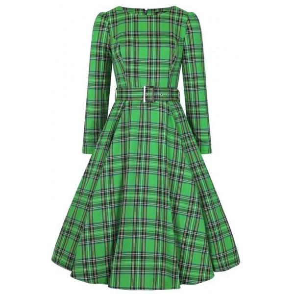 Green Tartan Dress