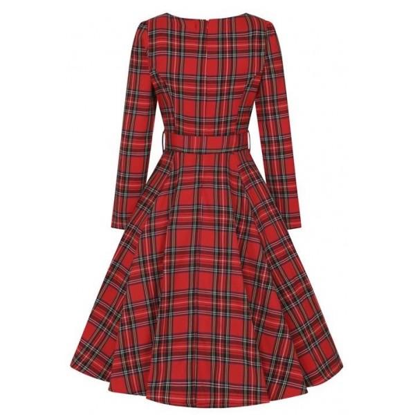 Red Tartan Dress GR.44 SALE