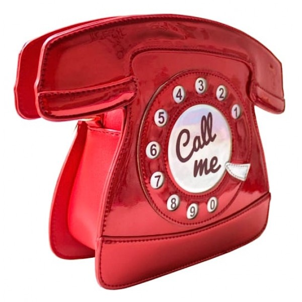 "Tasche ""Telephone Red"""