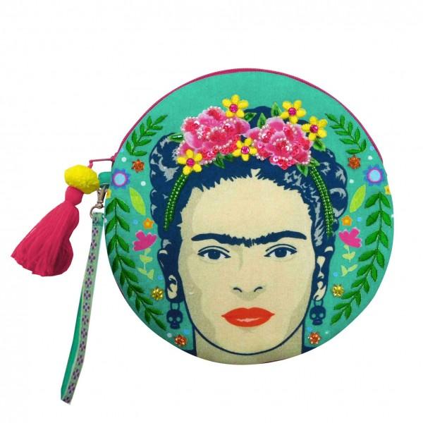 "Round Bag ""Frida Kahlo"""