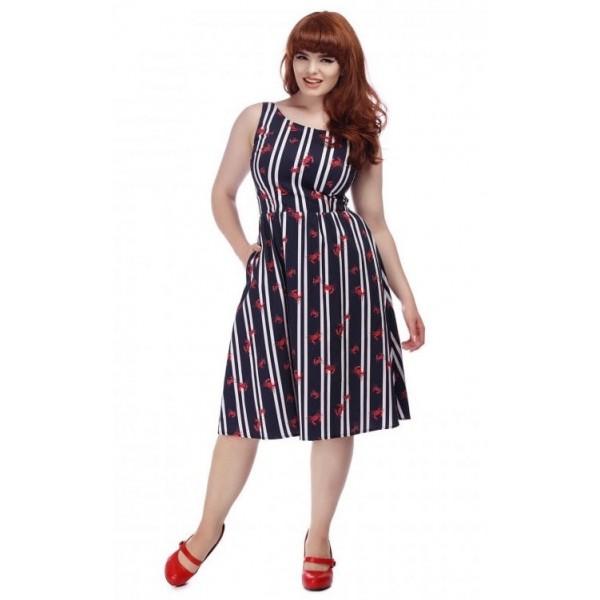 Stripes Dress GR.46,48 SALE