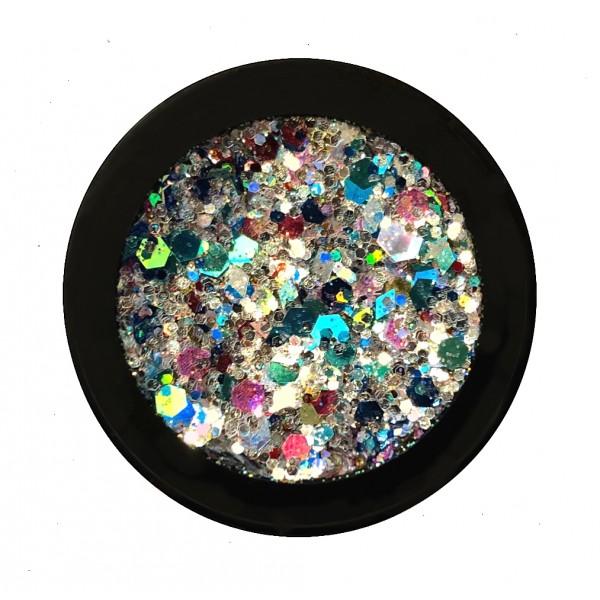 Space Glitter Caleidoscope Karin van Vliet
