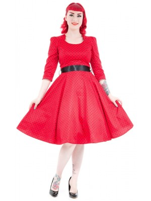 Marie Red Dress