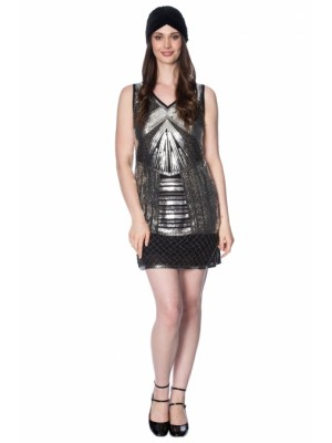 Silver Glamour Dress