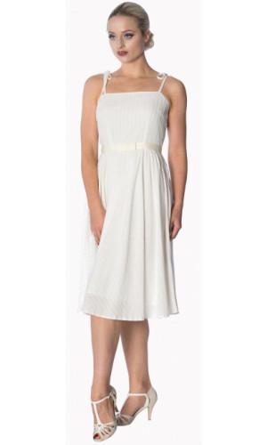 Bettie White Dress
