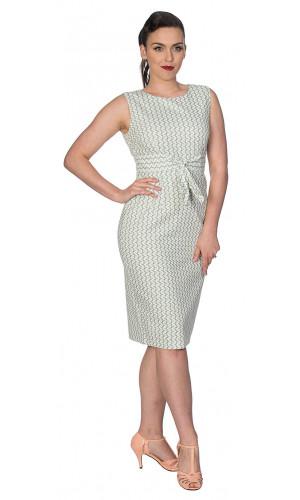 Carine Mint Dress