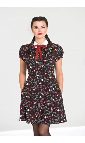 Lips Mini Dress