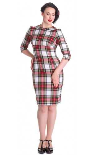 Office Tartan Dress