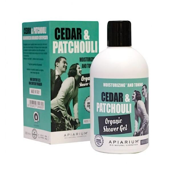 Cedar & Patchouli Organic Shower Gel 300ml