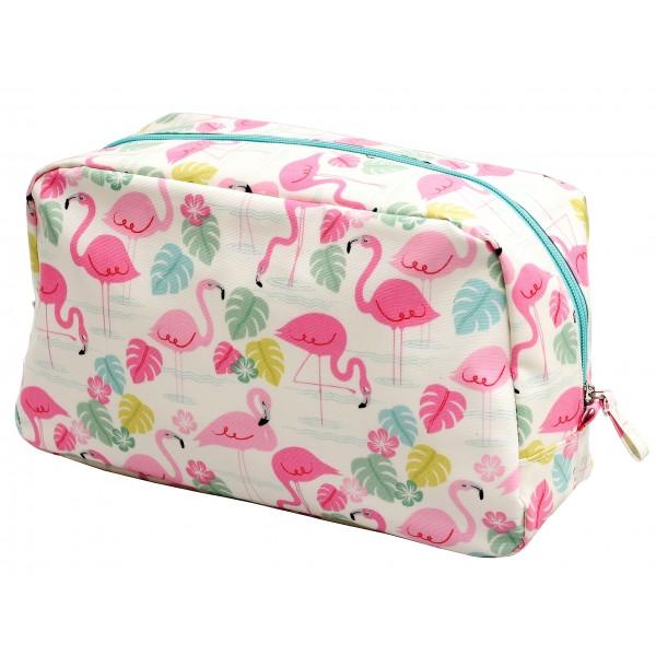 "Wash Bag ""Flamingos"""