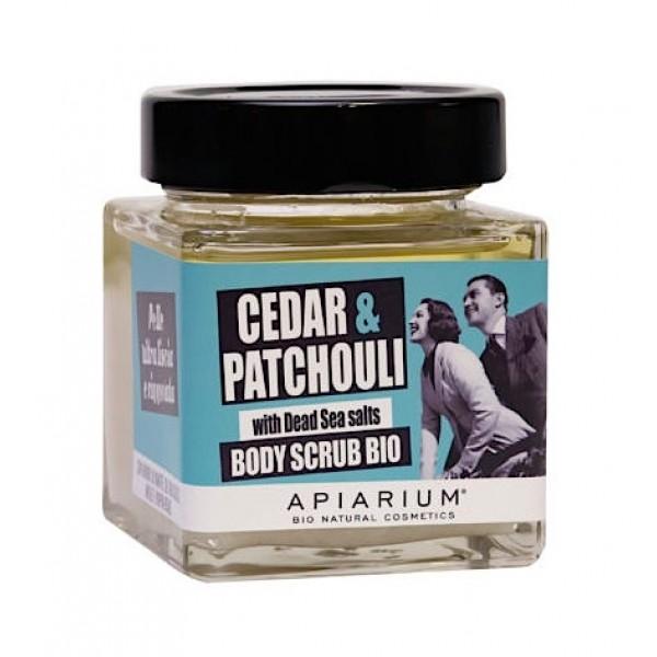 Cedar & Patchouli Organic Body Scrub 410gr