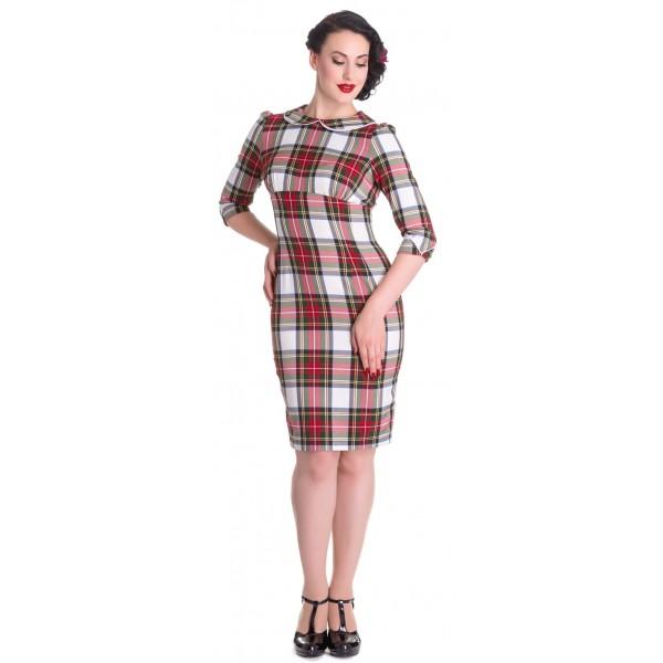 Office Tartan Dress