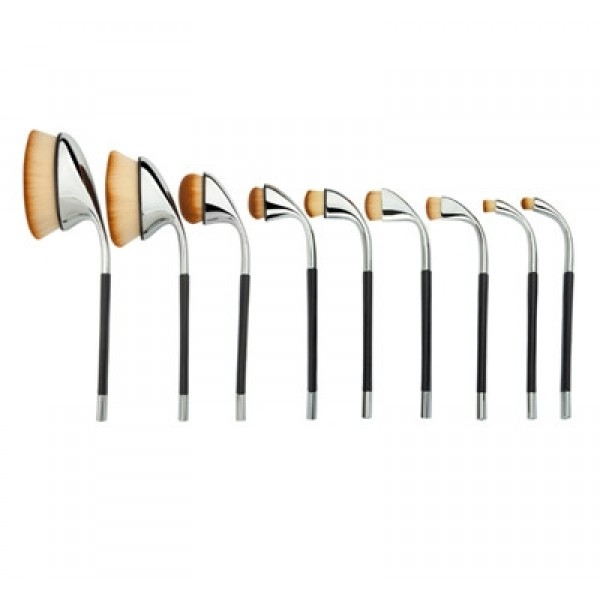 Oval Make up Brush Set