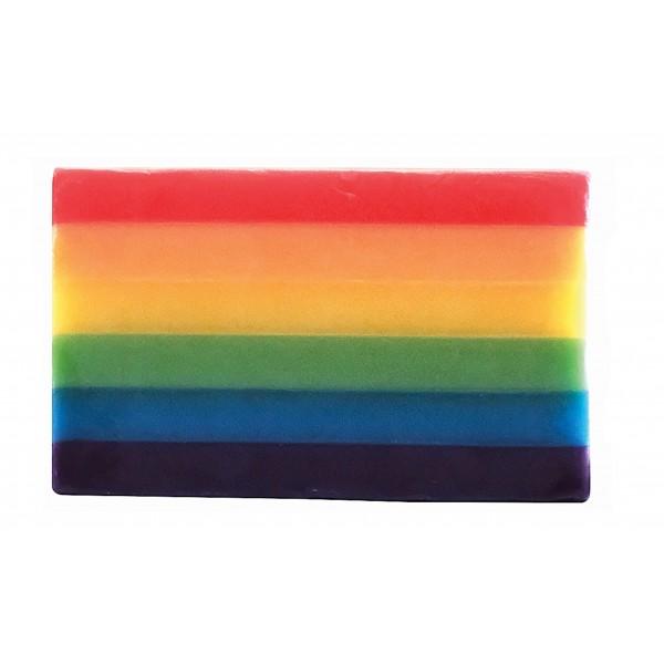 Regenbogen Seife